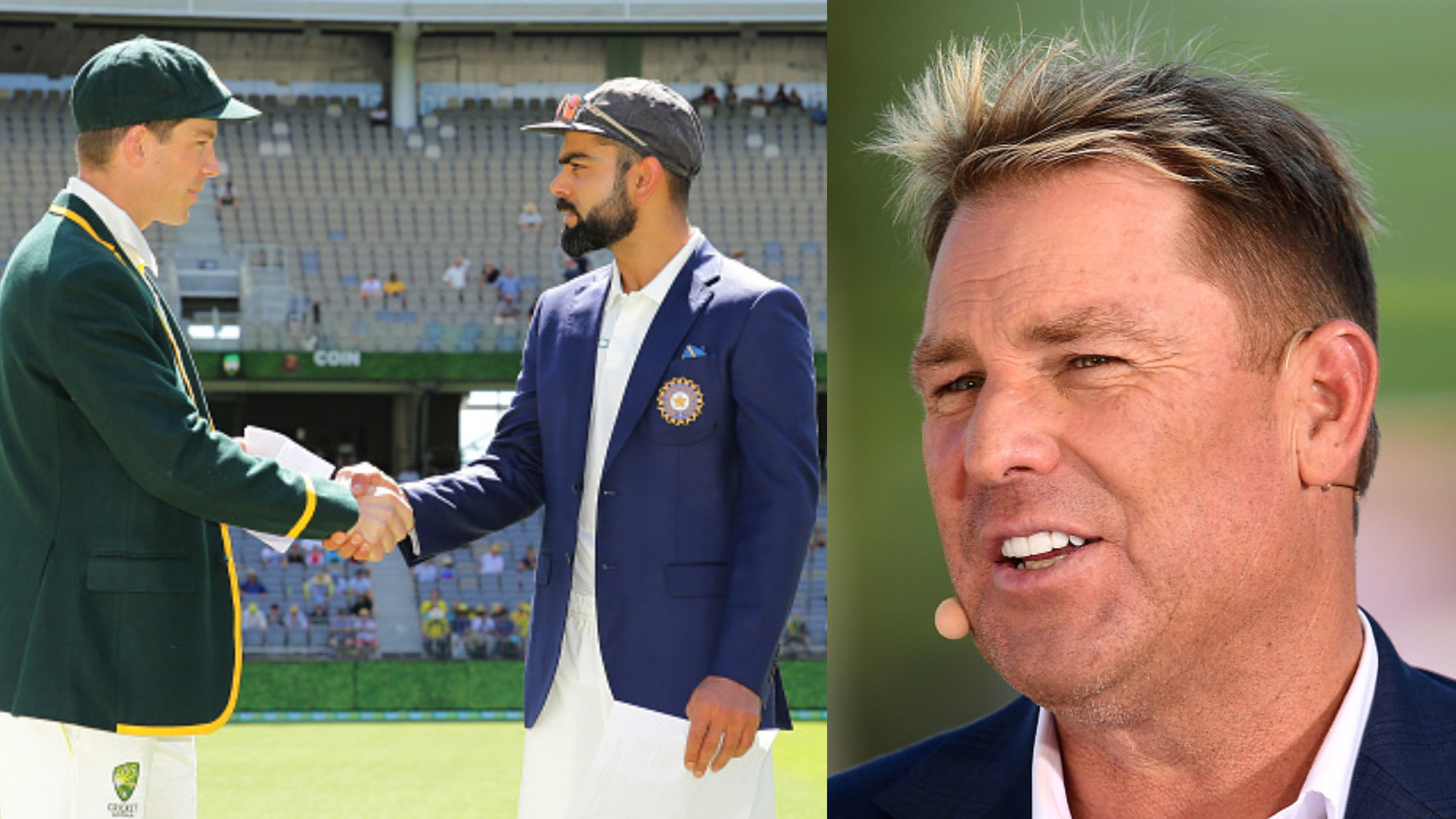 AUS v IND 2018-19: Shane Warne's bold prediction for Perth Test