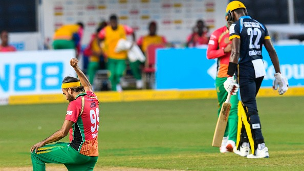 CPL 2020: Barbados knocked out of the tournament after a humiliating loss against Guyana