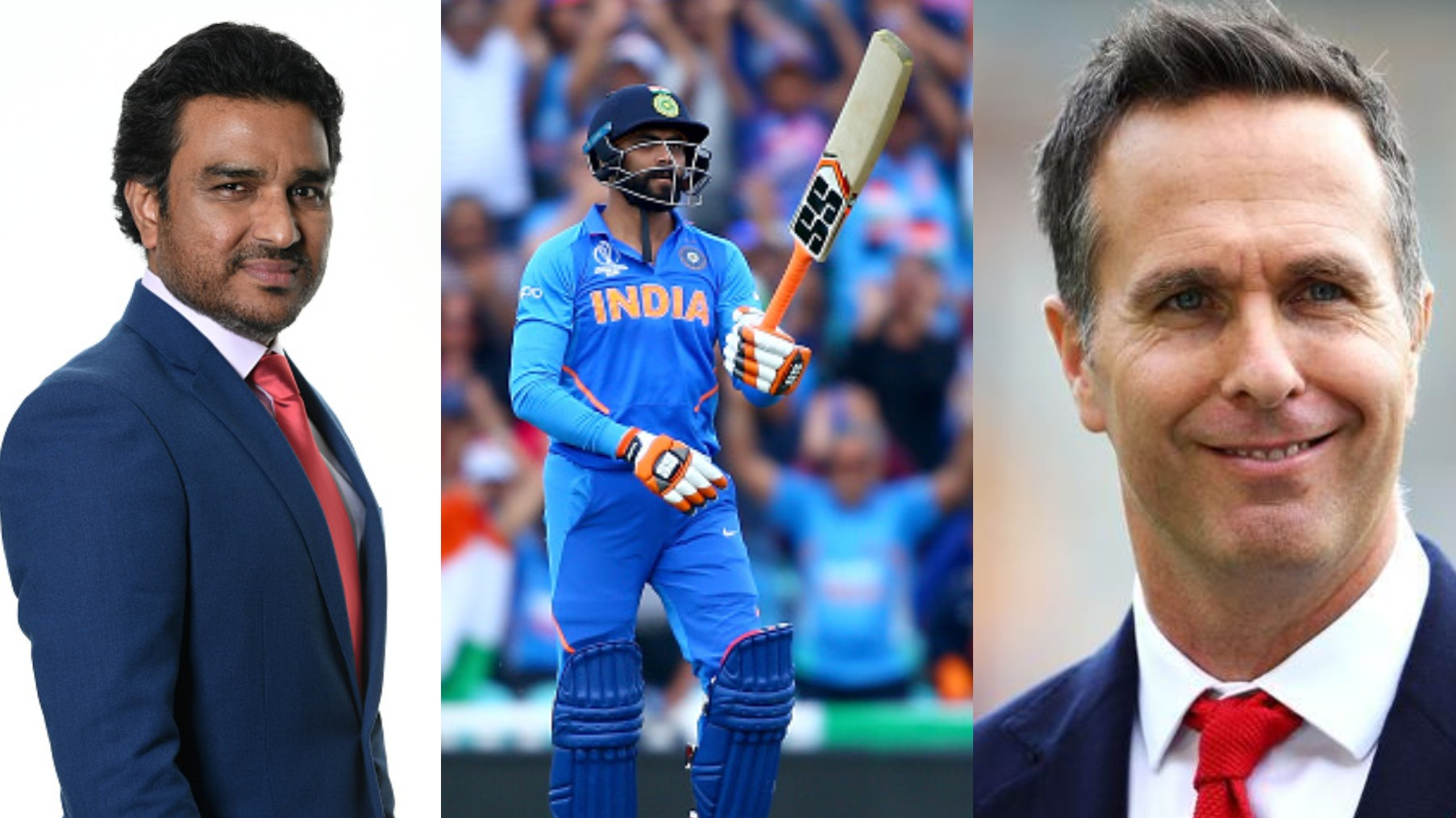 CWC 2019: Michael Vaughan takes a dig at Manjrekar after he selects Jadeja in his Indian team for the semis