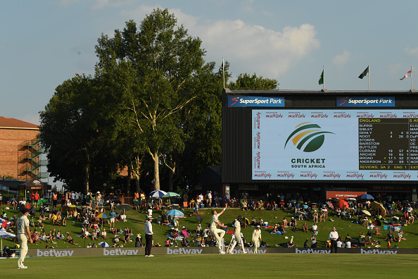 South Africa have confirmed that their two unnamed players have tested positive for COVID-19   Getty