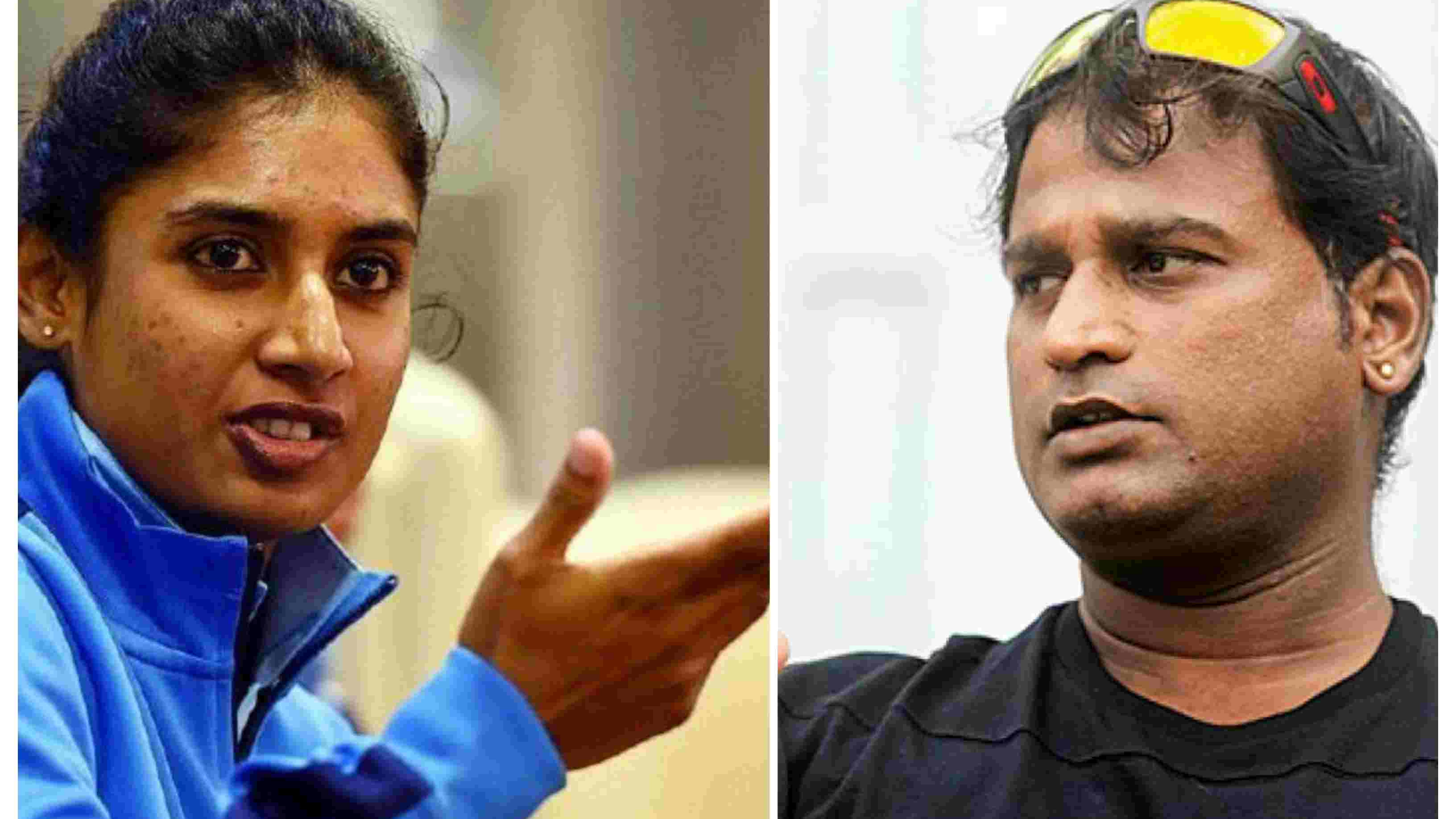 Ramesh Powar denies reports of strained relationship with Mithali Raj