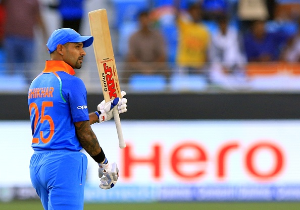 Shikhar Dhawan made the most runs in the tournament along with two centuries | Getty