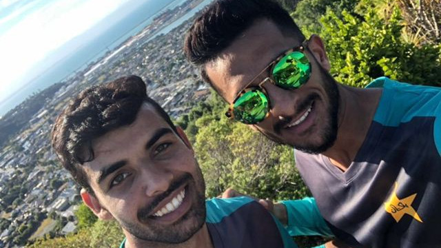 WATCH - Hassan Ali and Shadab Khan reveal the two Australia players they wish to target in the upcoming Test series