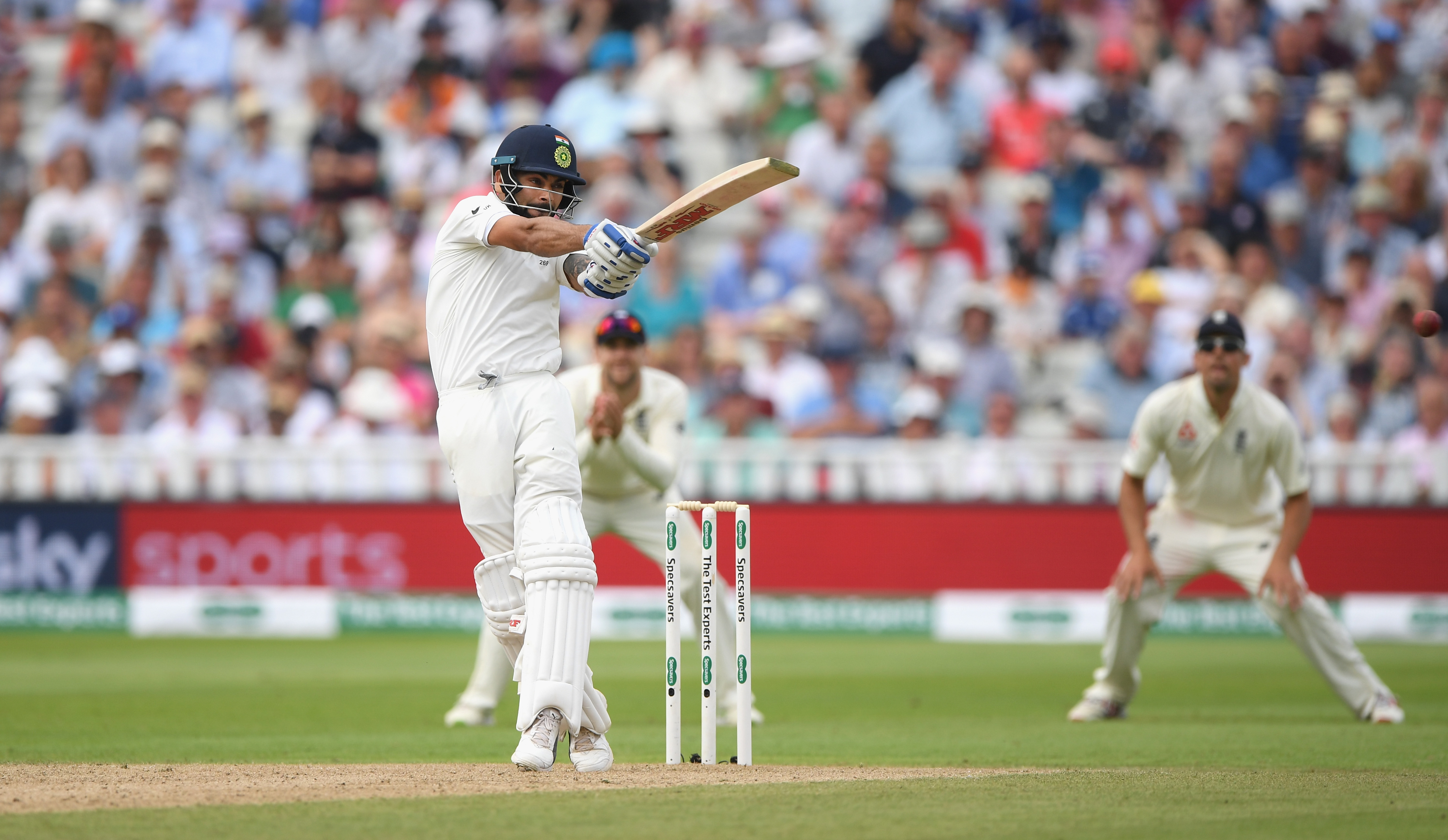 Virat scored a magnificent 149 on Day 2 of the Edgbaston Test. (Getty)