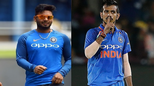 Rishabh Pant gets roasted by Yuzvendra Chahal on Instagram for his acrobatics