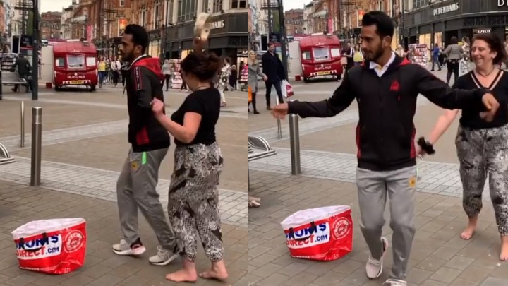 WATCH: Hasan Ali's unseen dance video in a foreign country goes viral