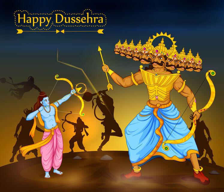 Happy Dussehra to everyone