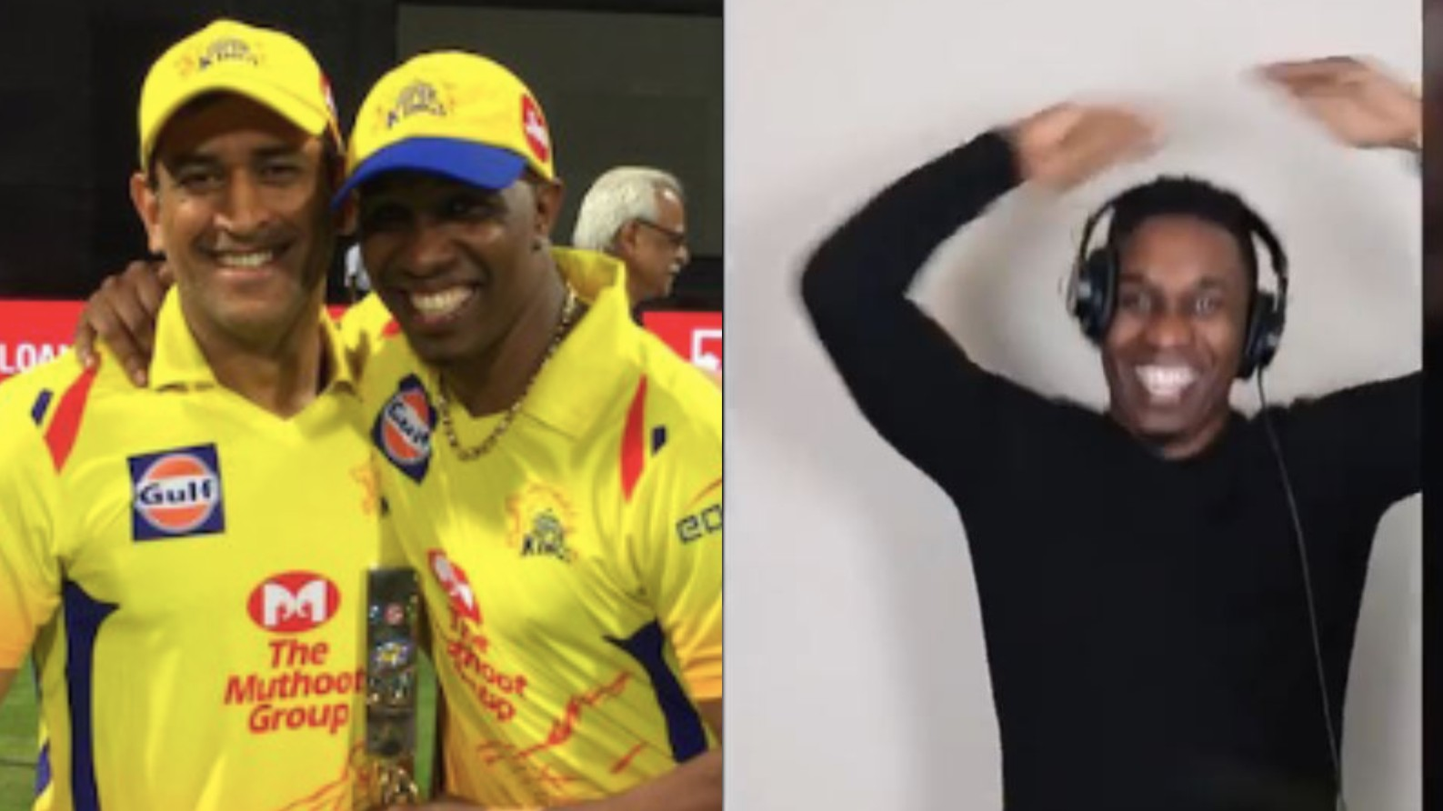 "WATCH- Dwayne Bravo releases teaser of ""MS Dhoni-Number 7"" song; shares helicopter celebration"