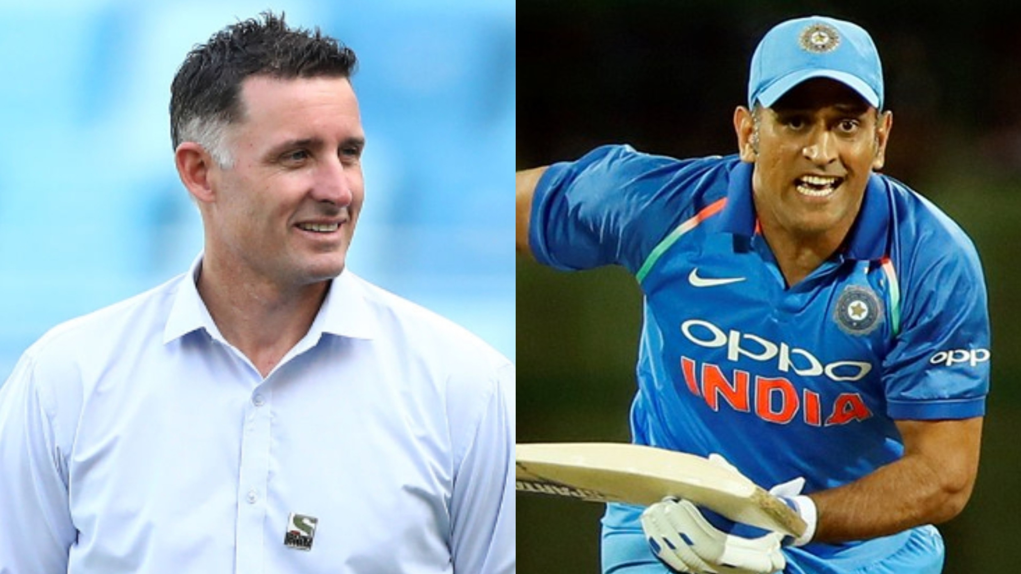 You should never write off champions like MS Dhoni, says Michael Hussey