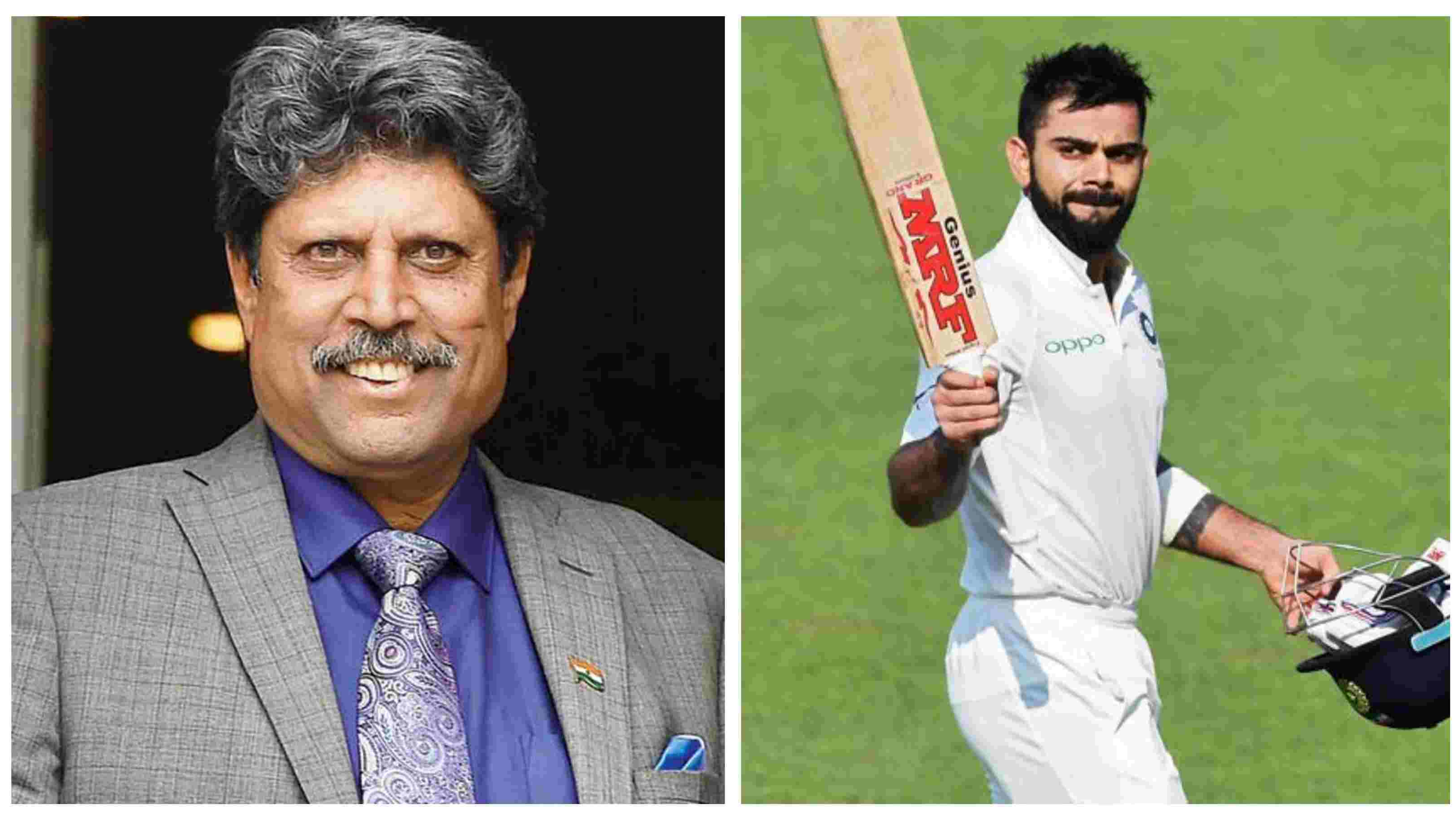 Kapil Dev names Virat Kohli among the top 10 cricketers of all time