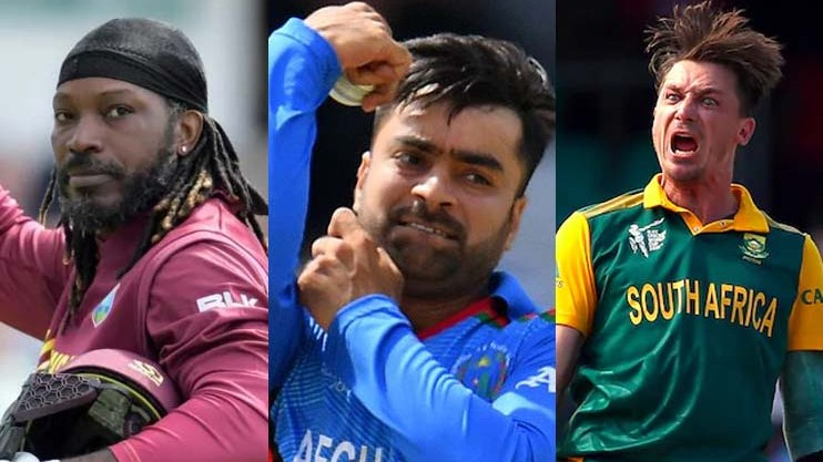 Chris Gayle, Rashid Khan, Dale Steyn among foreign stars to feature in PSL 2021 draft