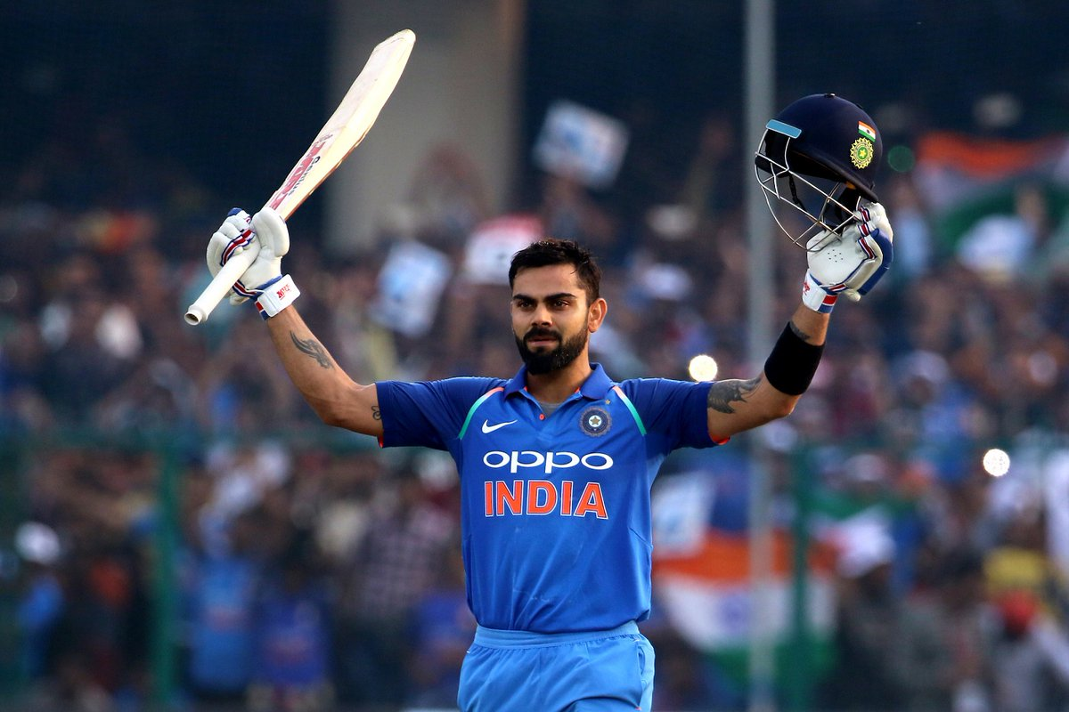 Virat Kohli now has 38 ODI centuires to his name now | AFP