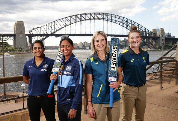India and Australia players poses before tournament opener   Getty Images