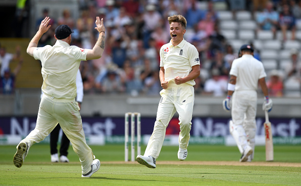 Young Sam Curran was the pick of England bowlers with 4/74 | Getty