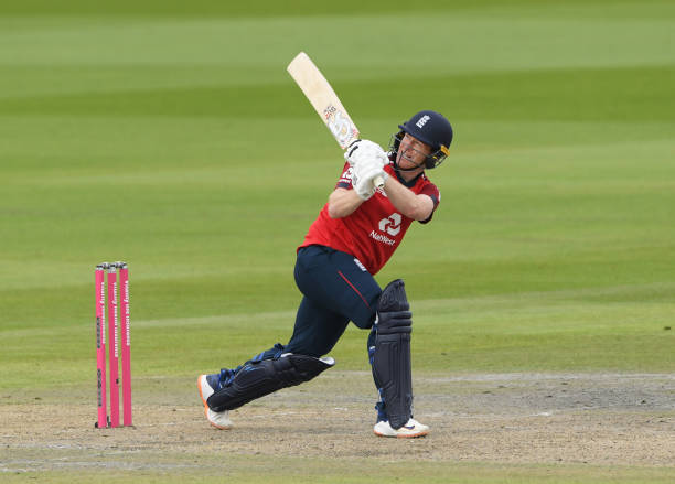 Eoin Morgan played 66 runs knock in the second T20I against Pakistan. (Source - Getty Images)