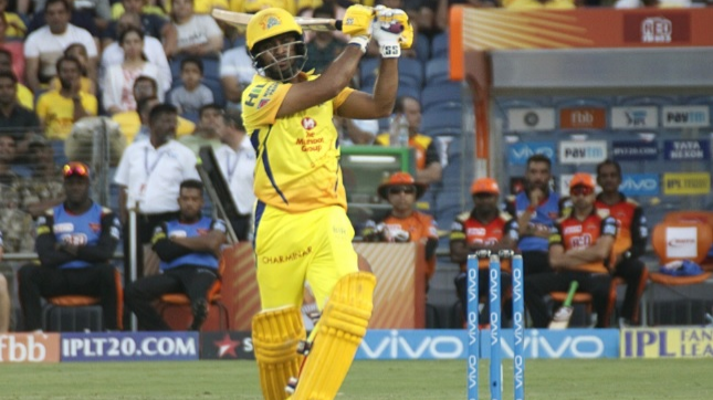 IPL 2018: Stephen Fleming extols Ambati Rayudu after his hundred against SRH