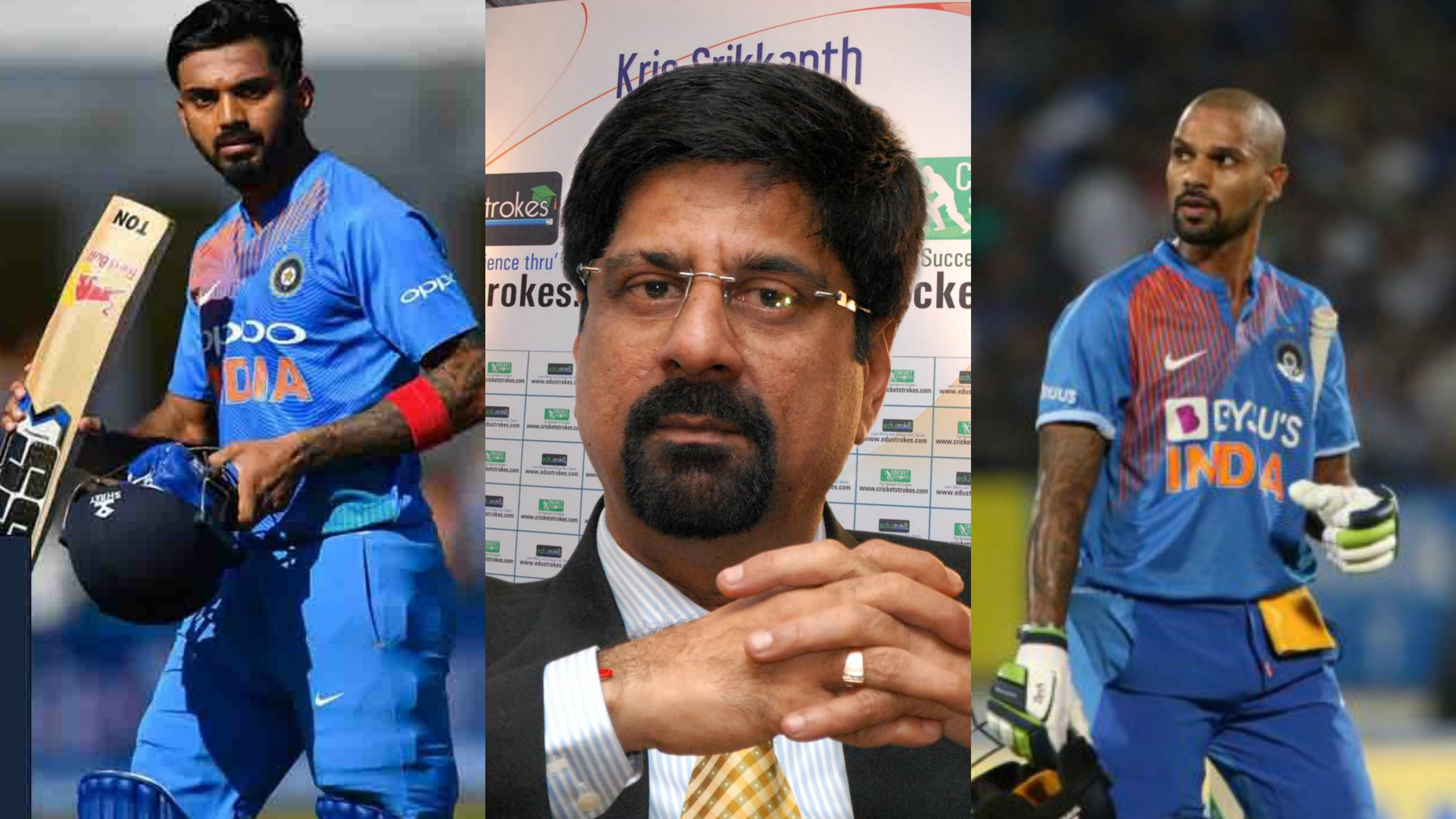 IND v WI 2019: Srikkanth suggests Team India to look beyond Dhawan in T20 and stick firmly with KL Rahul