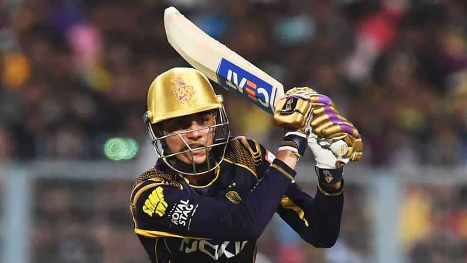 Shubhman Gill had a good outing for KKR in IPL 2018 | HT Photo