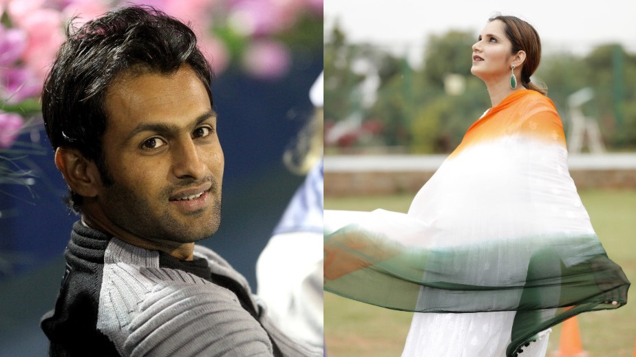 Shoaib Malik and Sania Mirza tweet wishes to one another on Independence Day of their respective countries