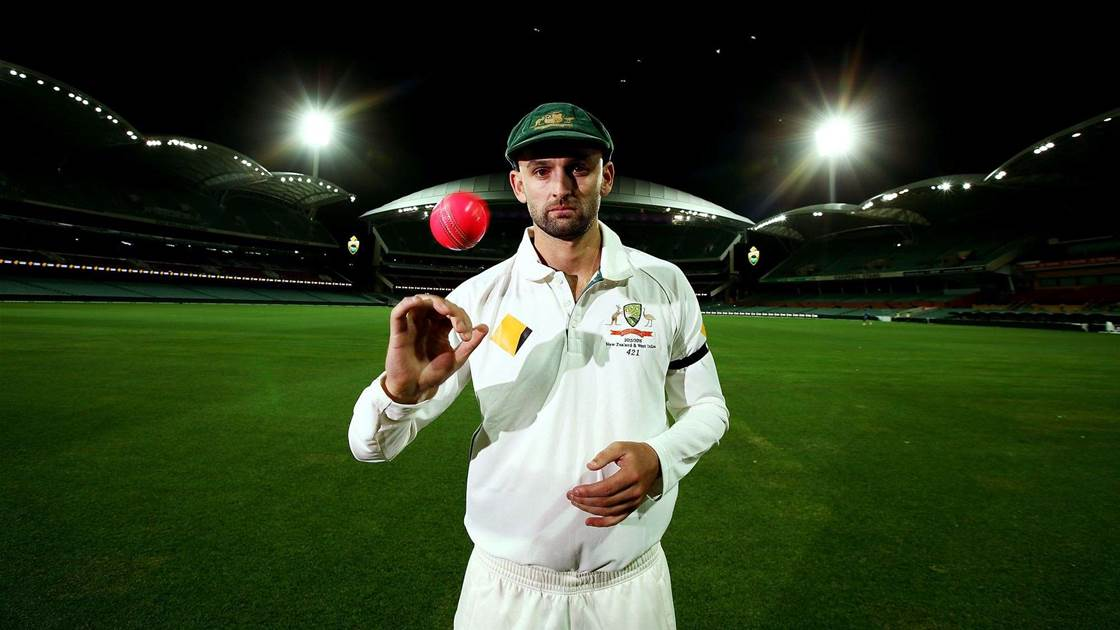 Nathan Lyon. (Getty)