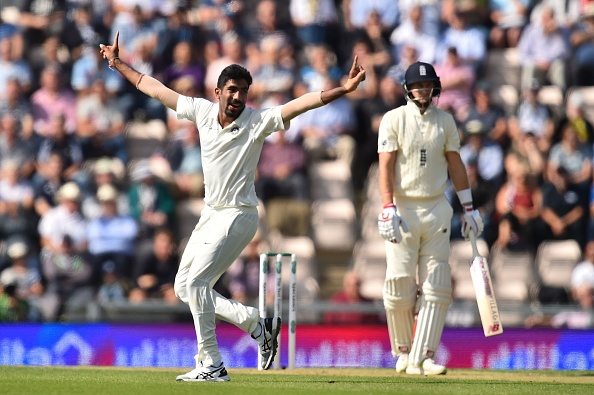 Jasprit Bumrah dismissed Keaton Jennings with a beauty of a delivery | Getty