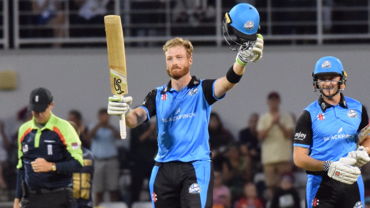Watch: Martin Guptill smashes 35-ball ton for Worcestershire