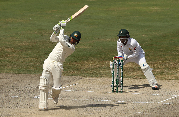 Usman Khawaja hits a ton in Dubai | Getty Images