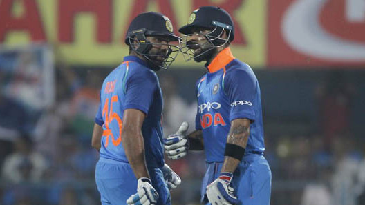 IND v WI 2018: 1st ODI – Virat and Rohit centuries rout West Indies by 8 wickets