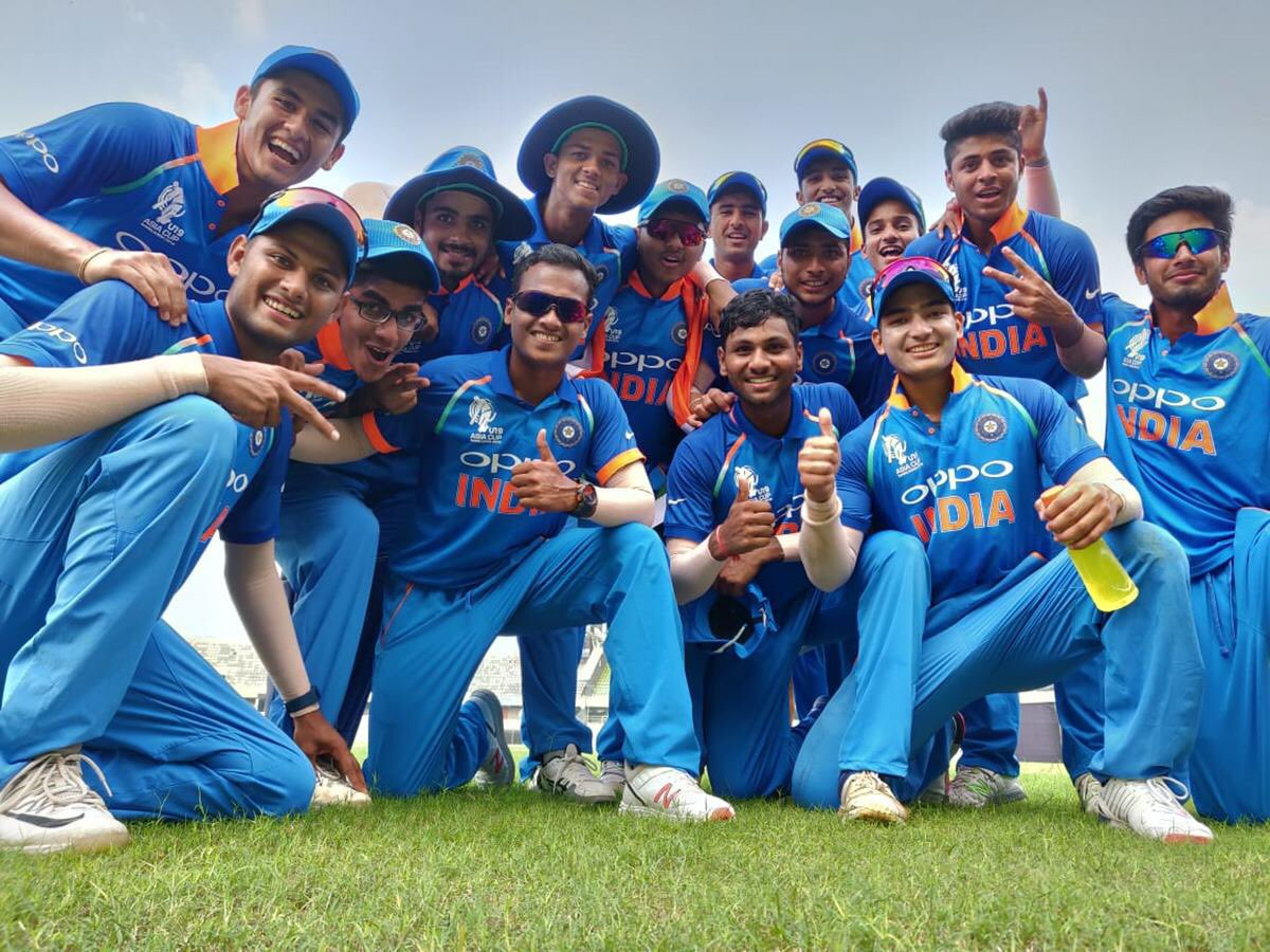 India lifted the U19 Asia Cup with an emphatic win | Twitter