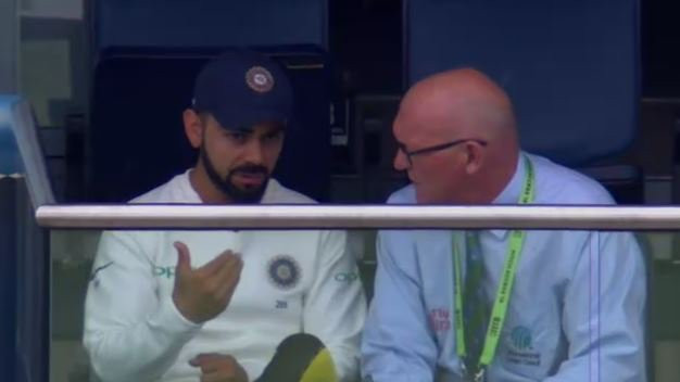 ENG v IND 2018: Virat Kohli summoned by match referee during Edgbaston Test
