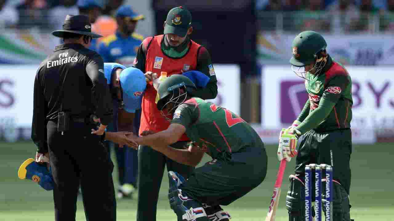 Tamim's injury is a bad news for his team| AFP
