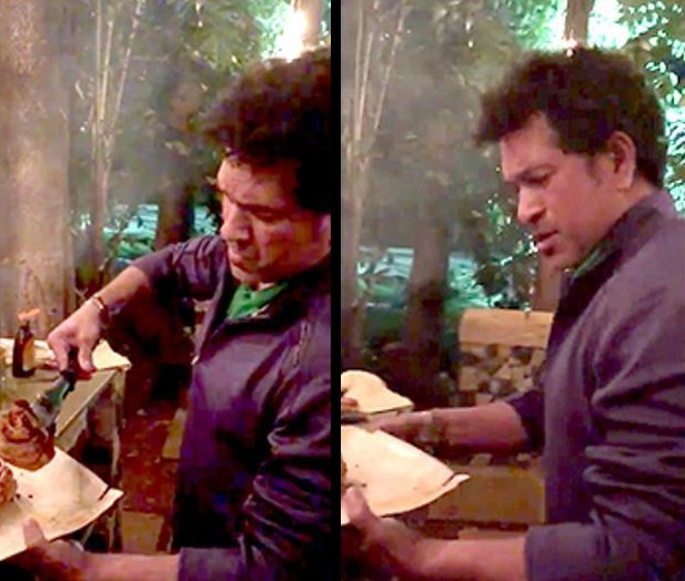 Watch: Sachin Tendulkar rings in the New Year by cooking for his family and friends