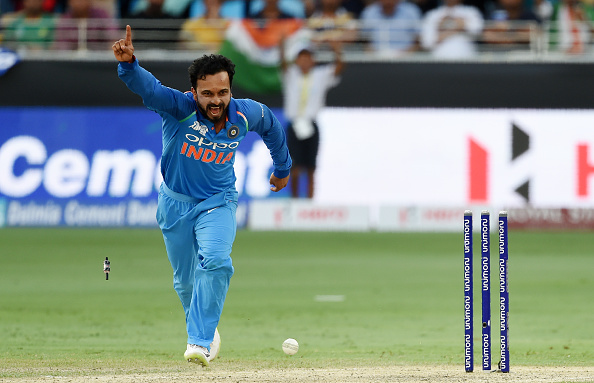 Kedar Jadhav will add to Indian team's ability to be flexible with his spin bowling | Getty