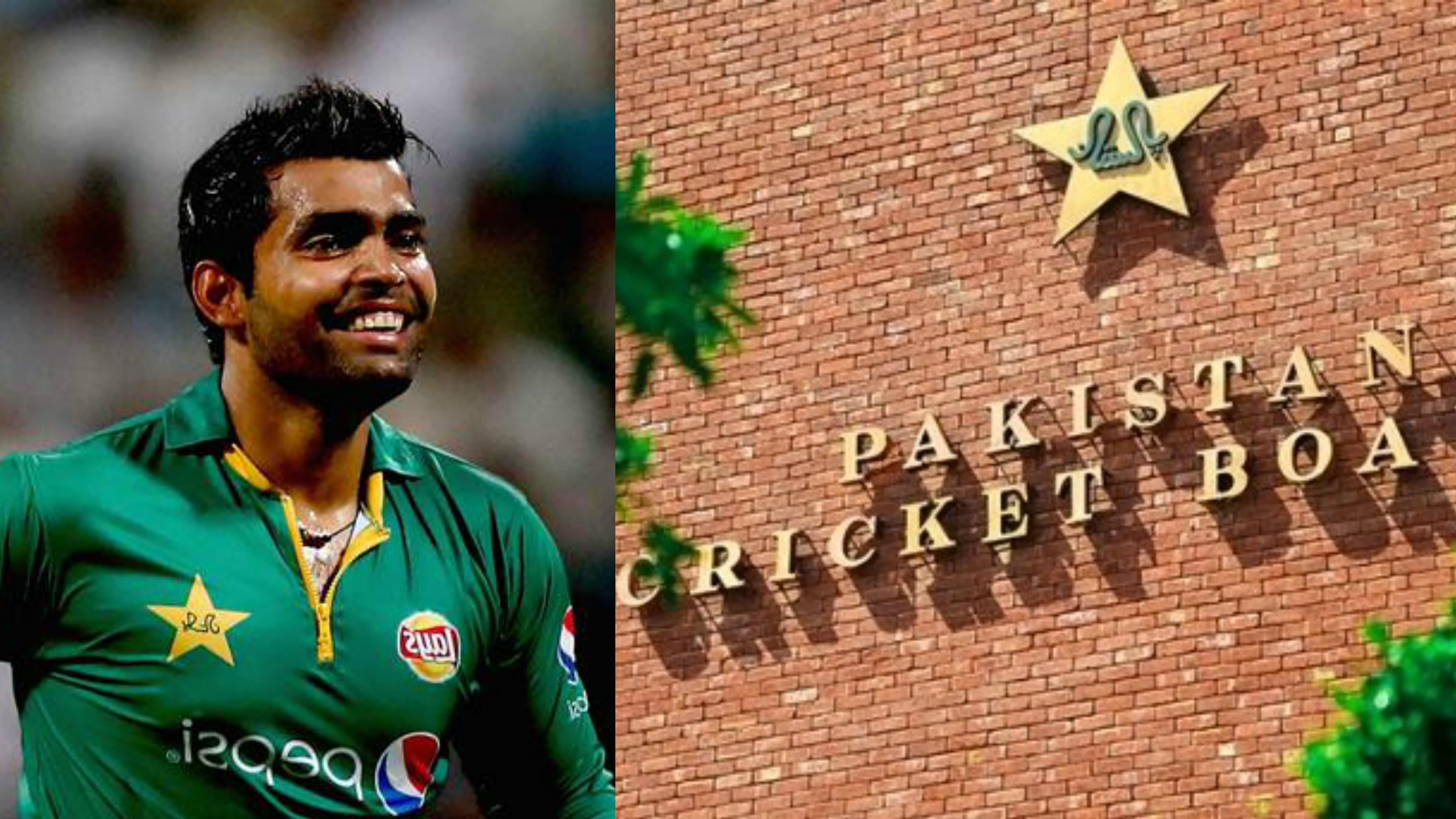 PCB reprimands Umar Akmal for