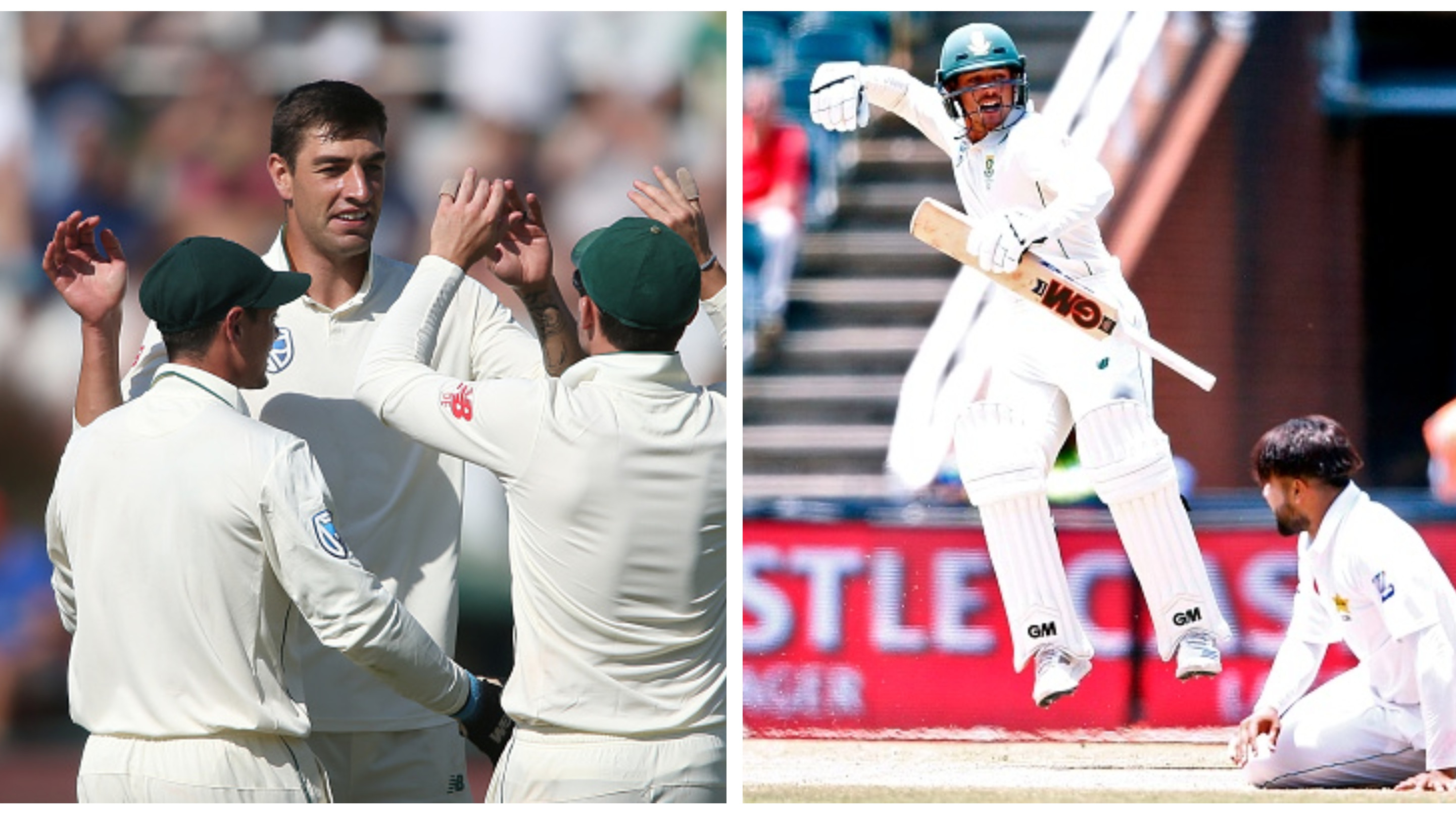SA v PAK 2018-19: Olivier reaches career-high, De Kock also moves up in the ICC Test rankings