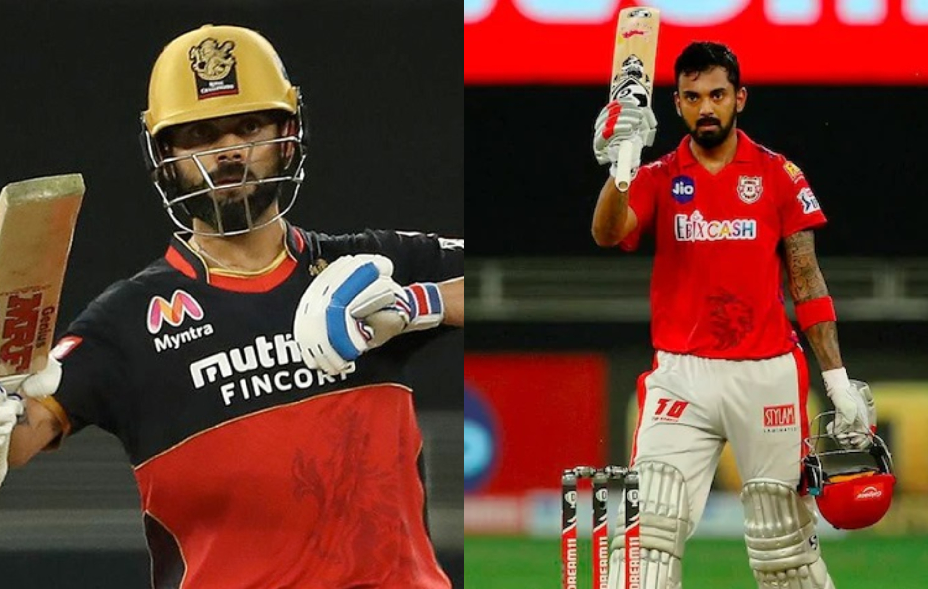 RCB is ranked 3rd in the points table, while KXIP are at the bottom | BCCI/IPL