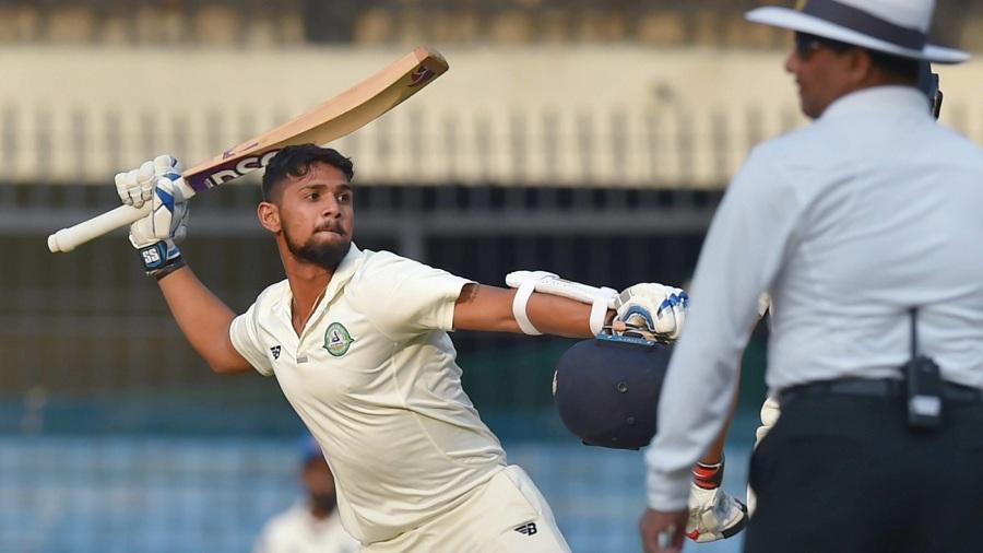 Wadkar helped Vidrabha pile up a big first innings score. (Cricinfo)
