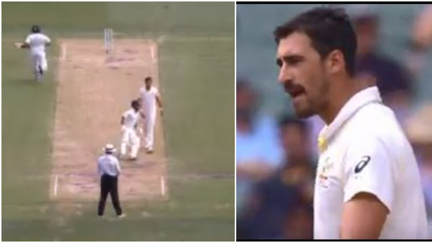 AUS v IND 2018-19: Angry Mitchell Starc shows displeasure with Rishabh Pant running on the pitch