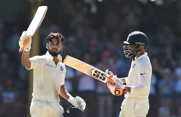 Rishabh Pant and Ravindra Jadeja added a record 204 runs for 7th wicket | Getty
