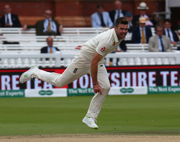 James Anderson picked 9 wickets at Lord's Test against India| Getty Images