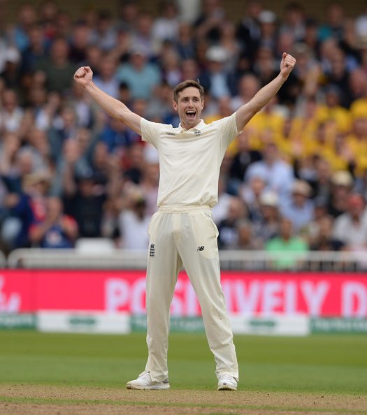 Chris Woakes picked up the first three Indian wickets to fall | Getty