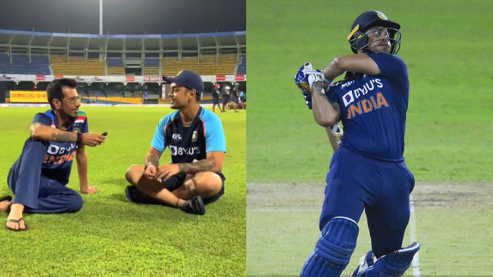 SL v IND 2021: WATCH - Ishan Kishan reveals he told his teammates about hitting first ball for a six