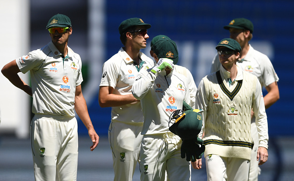 Australia lost the second Test by 8 wickets | Getty