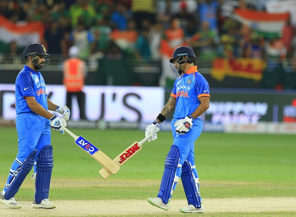 Rohit Sharma and Shikhar Dhawan have been ominous for the opposition bowlers in the Asia Cup 2018 | Getty