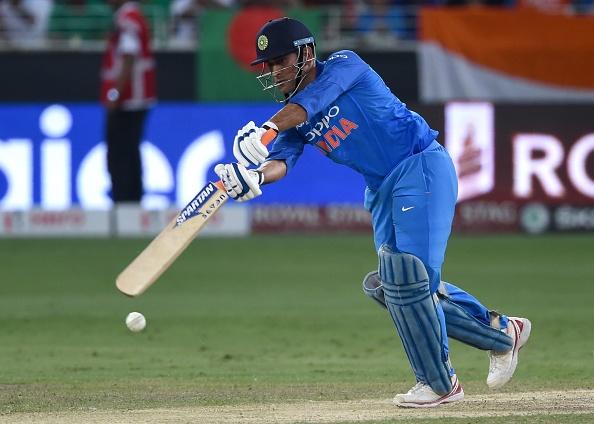 MS Dhoni has 9999 runs in ODI for India (photo - getty)