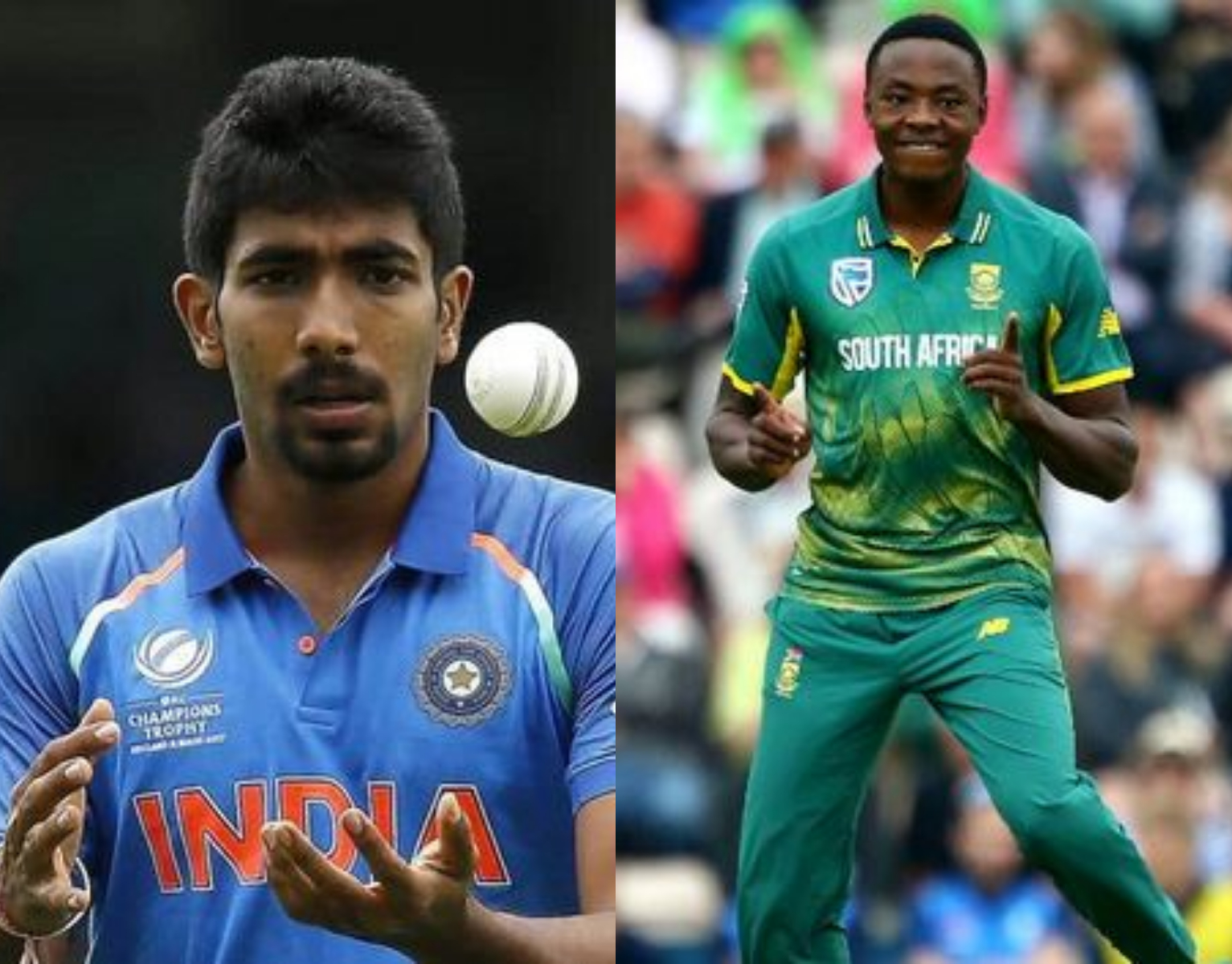 Jasprit Bumrah and Kagiso Rabada form a fearsome fast bowling pair in the 2018 ODI XI