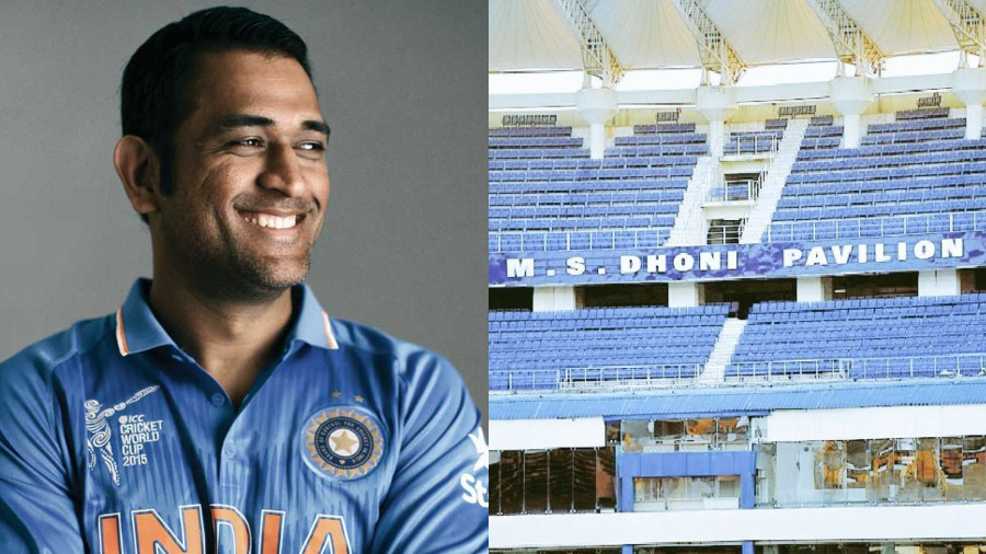 JSCA stadium gets a stand named after the 2011 World Cup winning captain MS Dhoni