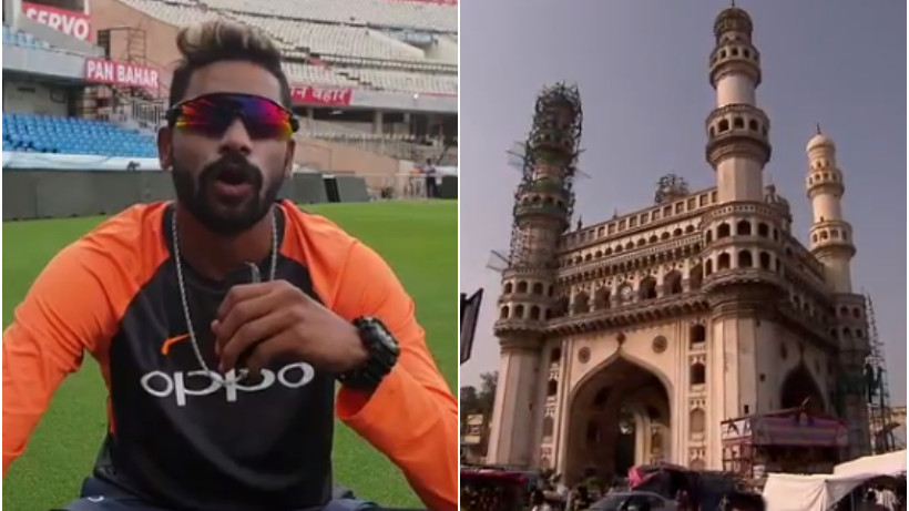 WATCH: Mohammed Siraj shares a short 'To Do List' in Hyderabad with his fans