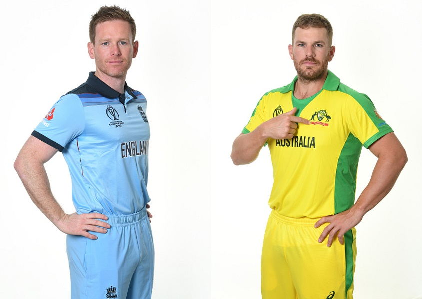 Eoin Morgan and Aaron Finch | Getty