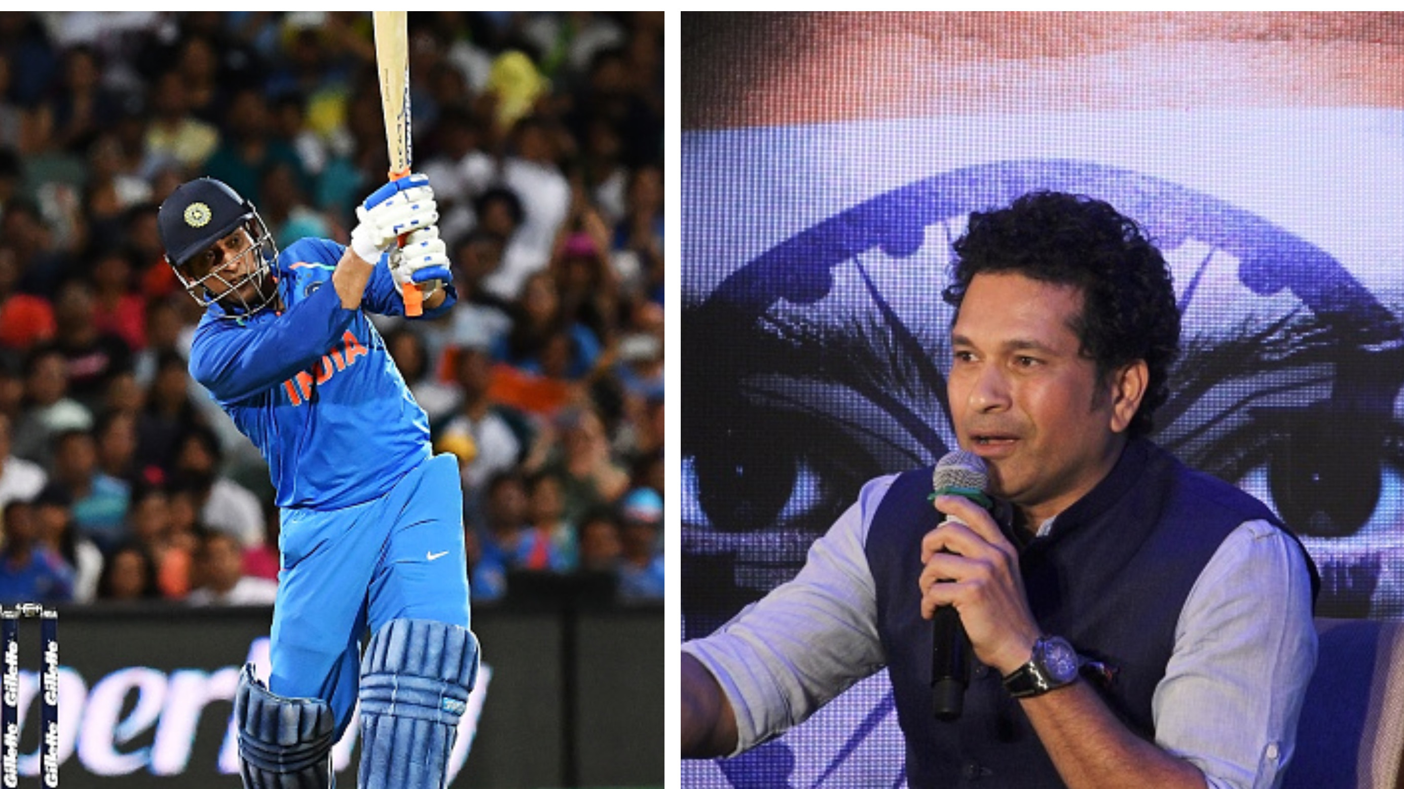 AUS v IND 2018-19: Sachin Tendulkar sees MS Dhoni as an anchor in India's ODI outfit